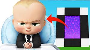 El Bebe Jefazo Portal A Un Jefe En Panales Minecraft Youtube