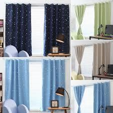 Cuh Window Curtains Blackout Room Thermal Insulated Kids Boy Girls Bedroom Decor Walmart Com Walmart Com