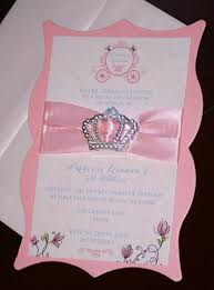 Princess Birthday Invitations Princesa Invitaciones De