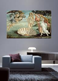 Botticelli The Birth Of Venus 1485 Wall Decal