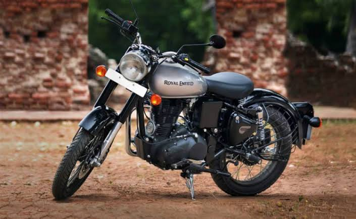 Image result for Royal Enfield Classic 350 Mercury Silver""