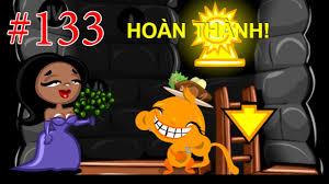 Game Chú khỉ buồn 133 - Khỉ buồn Giải cứu công chúa - Game24H