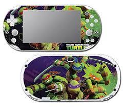 Teenage Mutant Ninja Turtles Tmnt Leonardo Leo Michaelangelo Donatello Raphael Cartoon Movie Video Game V Cartoon Movies Playstation Vita Slim Sony Playstation