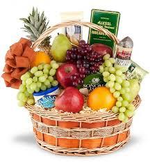 fresh fruit gourmet gift basket 80