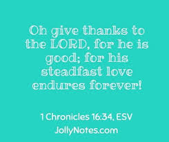 bible verses about thanking god for what he has done scripture