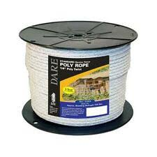 Electric Fence Poly Rope Livestock Fencing Supplies For Sale Ebay