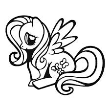 My Little Pony Fluttershy Decal Sticker