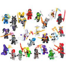 Compatible LEGO Ninjago Kai Cole Jay Nya weapons Education Building Blocks  Bricks Figures Toys For Children Gift Blocks