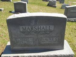 Addie Marshall (1879-1977) - Find A Grave Memorial