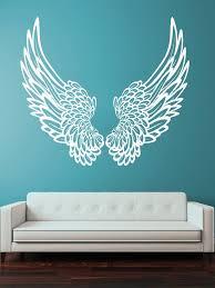 New Wall Vinyl Sticker Wall Decal Big Wings Angel God Guardian Bird Kids Children Home Decor Decoration Wall Art Wall Art Sticker Wall Decalwall Decals Aliexpress