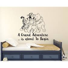 Decal House Classic Winnie The Pooh Nursery Bedroom Wall Decal Wayfair