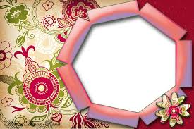 Vintage Border Floral Frame Free Ppt Backgrounds For Your