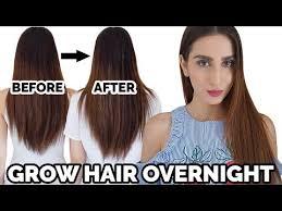grow your hair overnight diy hair