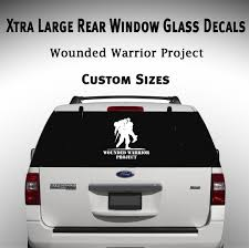 Wounded Warrior Window Decal Graphic Car Truck Suv Sticker Cars Trucks Car Decals Vinyl Window Decals