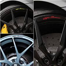 4pcs For Alfa Romeo Giulietta Alloy Wheels Rims Decal Stickers Mito Giulietta Giulia 147 156 Car Stickers Aliexpress