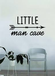 Little Man Cave Decal Sticker Wall Vinyl Decor Art Home Bedroom Living Boop Decals