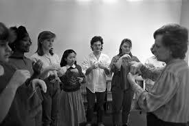 Fort Worth's Southwest High School Deaf Choir   UTA Libraries Digital  Gallery