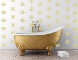 Art Deco Inspired Starburst Decals Removable By Thewordnerdstudio Custom Wall Decal Cast Iron Bathtub Art Deco Inspired