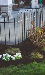 Panacea Triple Arch Garden Fence Sections 48 W Pack Of 8 At Bestnest Com