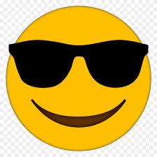 sungles emoji clipart smiley face