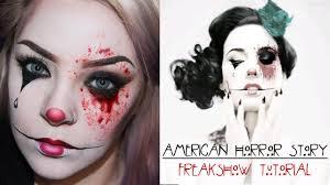 american horror story freak show makeup