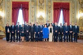 Giuramento del Consiglio dei ministri della Repubblica Italiana ...
