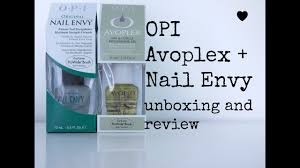 opi avoplex nail envy unboxing and