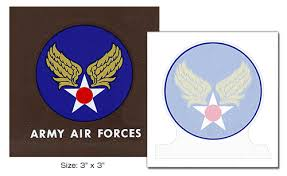Us Wwii Aaf Decal Heat And Wet Transfer