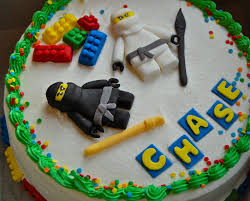 Chef Mommy: Ninja Lego Cake