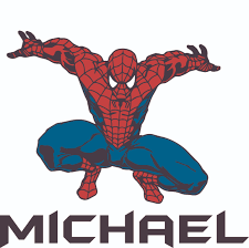 Spider Man Super Hero Web Spiders Customized Wall Decal Custom Vinyl Wall Art Personalized Name Baby Girls Boys Kids Bedroom Wall Decal Room Decor Wall Stickers Decoration Size 30x30
