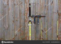 Fence Gate Lock Bolt Stock Photo C Alexirina 208542056