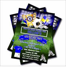 14 Unids Lote Futbol Personalizado Invitacion De Cumpleanos