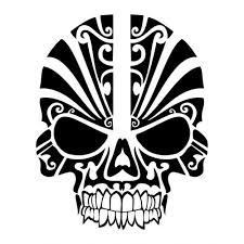 Decals Stickers Vinyl Decals Car Decals Tribal Skull Skull Painting Black Skull Tattoo