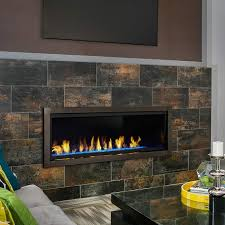 vent free linear fireplace