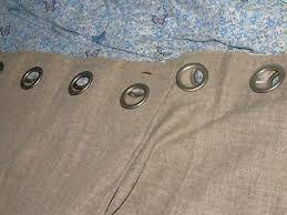 lined eyelet curtains dunelm 46 x54
