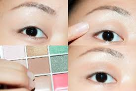 apply eye makeup on asian eyes