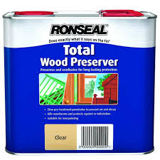 Ronseal Total Wood Preserver Clear 2 5l
