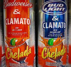 budweiser and bud light chelada