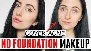 no foundation makeup tutorial