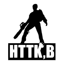 Evil Dead Hail To The King Baby Ash Evil Dead Yeti Decal