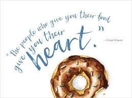 inspiring quotes about food and love