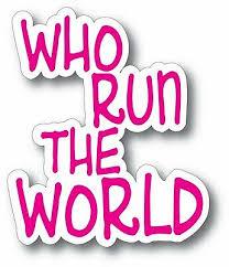 Beyonce Who Run The World Decal Bumper Window Sticker 3 X 3 74 Outdoor Decal Ebay