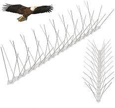 Yaheetech 5m Bird Spikes Home 16 4ft Pigeon Spikes 10pcs Wall Fence Spikes Garden Pigeon Repeller Deterrent Amazon Co Uk Garden Outdoors