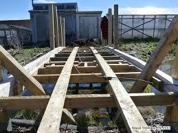 garden bridge deck building