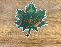 Geneseo Leaf Sticker Four Seasons