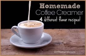 homemade coffee creamer four