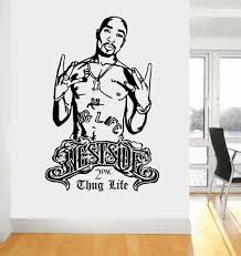 Legend Rapper Tupac Wall Decal Ondecal