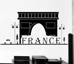 Wall Decal Paris France Classic French Building Vinyl Decal Z3121 Ebay