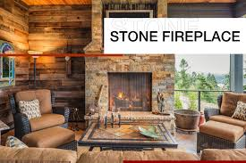 stone fireplace ideas for your home in
