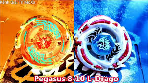 Trận so tài con quay Nado Galaxy Pegasis và Meteo Dragon